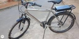 Vendo bicicleta de marcha ou troco por uma caixa trio.