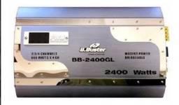 Título do anúncio: Modulo Amplificador B.buster Bb-2400gln 600rms Mosfet 4ch Ab