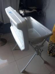 banheira com trocador completa