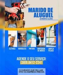 Título do anúncio: Reparos no seu lar, empresa ou sítio / Marido de aluguel