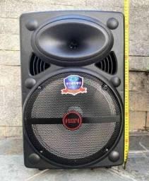 Caixa de Som Super Bass 2000w de Potência Bluetooth Microfone Controle PRONTA ENTREGA