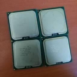 Lote de processadores 775