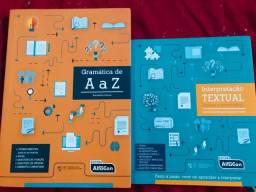 Livro de Gramática + Interpretação Textual