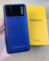 Xiaomi Poco M3 64GB/128GB 4 RAM Loja Fisica + 1 Ano de Garantia Lançamento