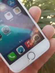 IPhone 6s Rose 64gb trincado v/t