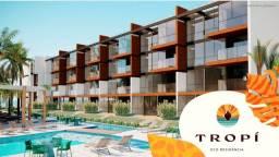 Título do anúncio: Seu 2 quartos em frente as piscinas naturais em Muro Alto, confira!