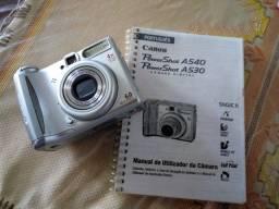 Câmera fotográfica Canon AS540, Power shot.