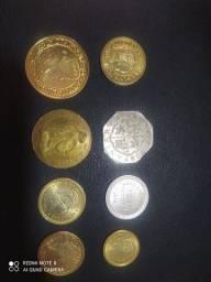 Coleção cédulas e moedas Alex zp 43.9. *