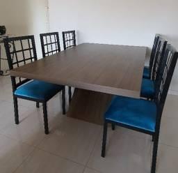 Título do anúncio: Mesa de Jantar com 06 cadeiras