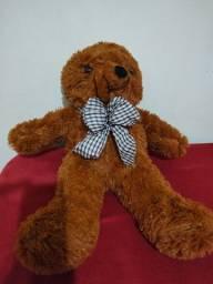 Título do anúncio: Urso de Pelúcia de 60cm Novo (NÃO FAÇO MENOR PREÇO)