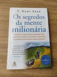 Título do anúncio: Livro Os Segredos da Mente Milionaria T.Harv Ever Lacrado