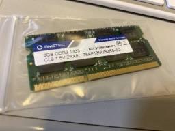 Título do anúncio: Vendo Pentes de RAM - 4 GB e 8GB Ddr 3 1333
