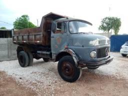 MB 1113 Toco Caçamba ano 77 Caçamba e Direção Hidráulica