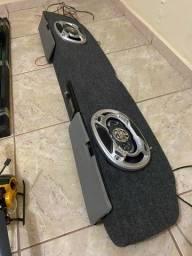 Sistema de som completo para caminhonete D10 C10