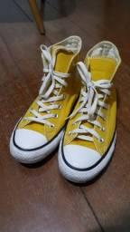 All star amarelo 37
