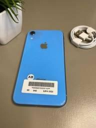 Título do anúncio: Iphone XR Azul 64gb