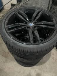 Título do anúncio: Rodas aro 20?com pneus novos