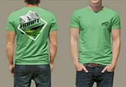 T-shirts 100 % algodão