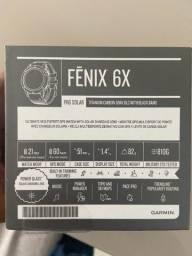Título do anúncio: Garmin fenix 6x pro solar ox titanium