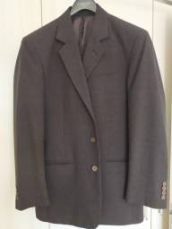 Título do anúncio: Terno Coronet 48 Calça 46 Verde-morrom Escuro