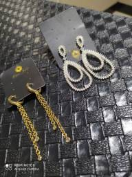 Lindas peças em semi jóias com garantia de 1 ano