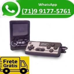 Vídeo Game Portátil 400 Jogos Mini Recarregável Com Controle Gamebox Nintendo (NOVO)
