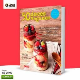 Livro 50 Doces Veganos - Delícias Fáceis E Práticas<br><br>