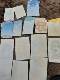 coleção 15 papéis de carta ursinhos carinhosos anos 80 estão impecaveis