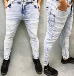 Calças jeans skynni