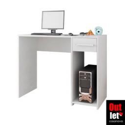 Mesa de Computador Branca NOVA (em Estoque)