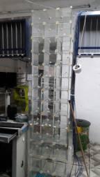 vendo baleiro todo de vidro , super grande