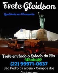 Título do anúncio: Frete Indicações Campos rj