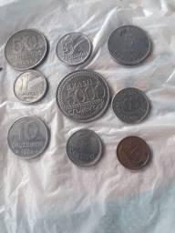 Moeda antigas 7 moedas 80$