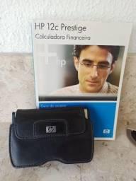 Título do anúncio: Calculadora Financeira HP 12c Prestige + Guia do usuário