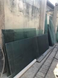 Conjunto Vidro Blindex Verde