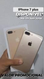 IPHONE 7 PLUS 32GB EM 12X SEM JUROS