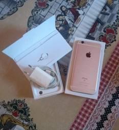 iPhone 6s Semi Novo 32GB Rose Gold (Aceito Cartão)