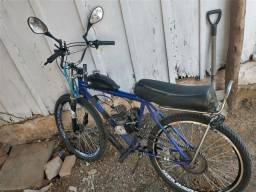 Título do anúncio: Bike de motor 80cc BEM BOA DE MOTOR