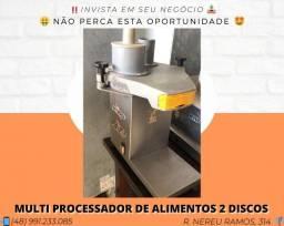 Multi processador de alimentos 2 discos   Matheus