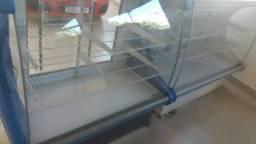 Conjunto de balcão 1 refrigerado e um seco