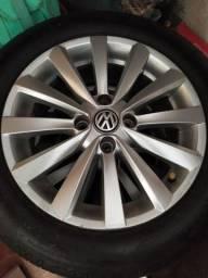 Rodas gol G6 originais Volkswagen aro 15 com 4 pneus novos