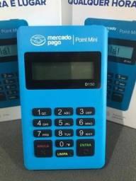 Queima de estoque Máquinas de cartão Point Mini D150 Mercado Pago