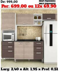 Cozinha Modulada - Direto da Fabrica