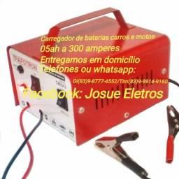 Carregador de bateria carros e motos 300 amperes-entrega grátis