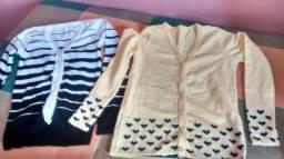 Casaquinhos de tricô
