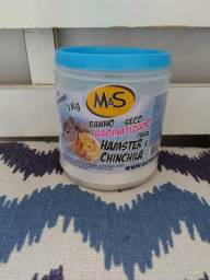 Banho seco hamster