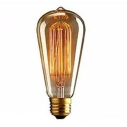 Lampada Retrô Vintage Filamento Carbono