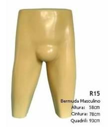 Manequim Masculino Expositor de Bermuda ou Cueca