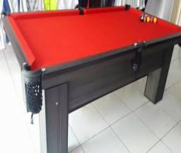 Mesa Residencial Cor Dakar Tecido Vermelha Mod. ZRIK4311