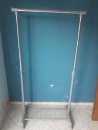 Banquetas de madeira /71 cm de altura  HE móveis 982357401